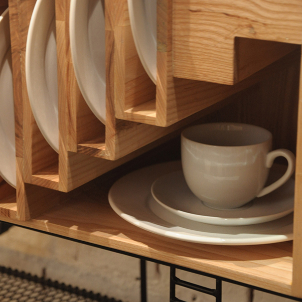 Baan Dinner Set Cupboard
