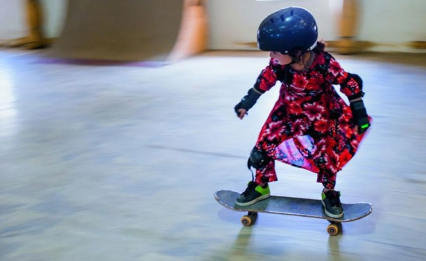 Skate girls of Kabul. The project of Jessica Fulford-Dobson
